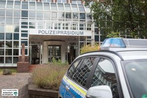 Das Polizeipräsidium in Dortmund.
