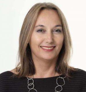 Die DGB-Landesvorsitzende Anja Weber.