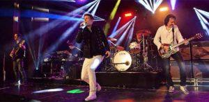 "WE ROCK-Queen, die Originalband aus dem Musical ""WE WILL ROCK YOU""."