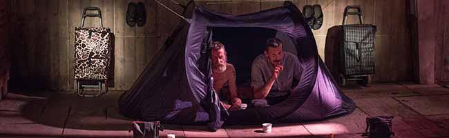 """""""draußen"""" – Filmporträt von vier Obdachlosen: Zum Kinostart kommen die Regisseurinnen zum Gespräch ins """"sweetSixteen"""""""