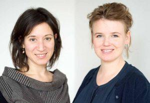 Tama Tobias-Macht & Johanna Sunder-Plassmann stehe Rede und Antwort.