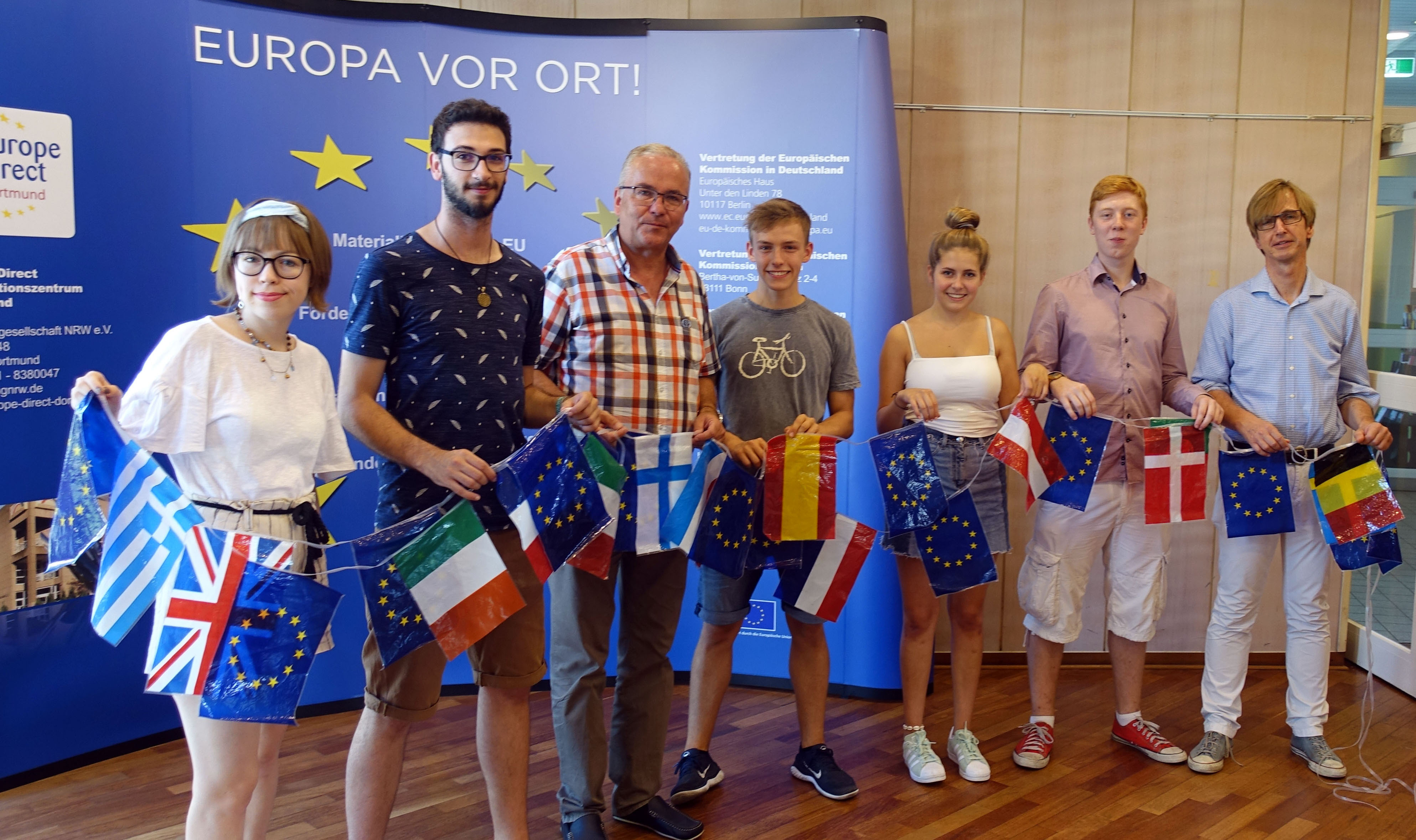 Die Auslandsgesellschaft bietet über den EFD die Gelegenheit, in ganz Europa in sozialen Einrichtungen zu arbeiten.