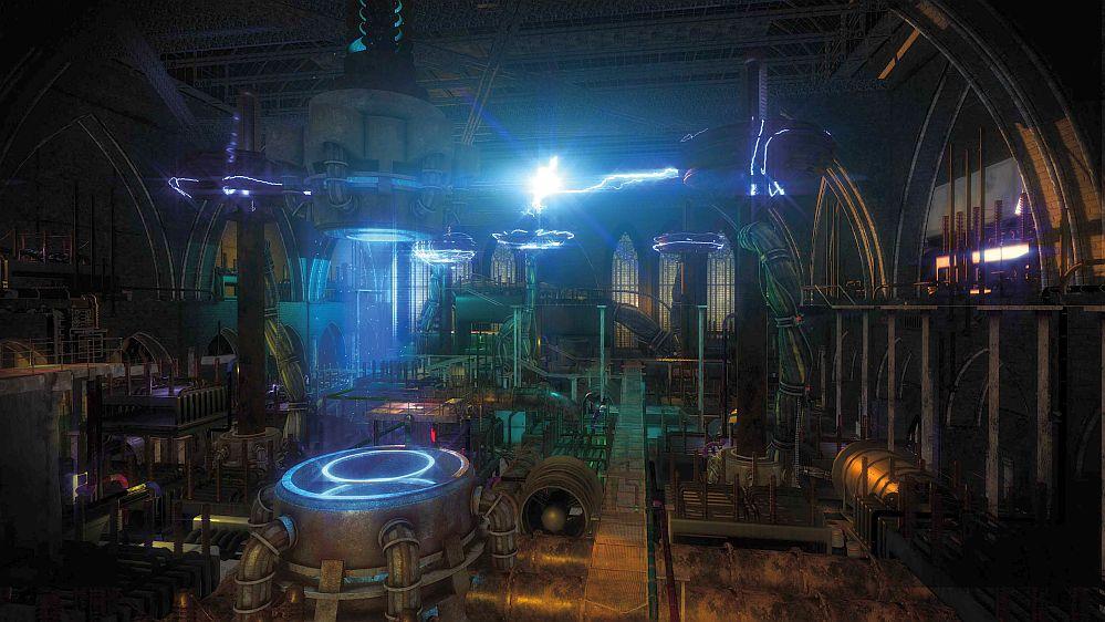 Huxley - Brave new World, die Gamer im virtuellen Raum retten können. Foto: Exit Dortmund