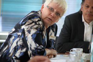 Schuld und Sühne oder die Frage nach dem Warum: Regine Kreickmann, Bereichsleiterin Jobcenter