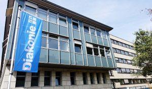Die Zentrale Beratungsstelle für Wohnungslose befindet sich im Haus der Diakonie in der Rolandstraße.
