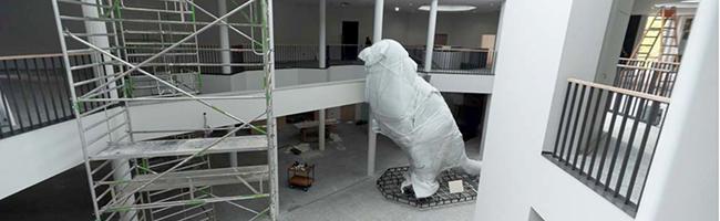 Naturkundemuseum in der Nordstadt: Nach vier Jahren Umbau steht noch immer kein Eröffnungstermin fest