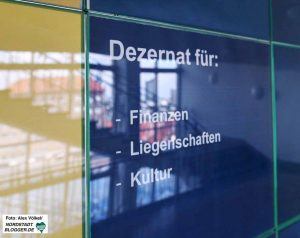 """Das Dezernat von Jörg Stüdemann wurde """"verschlankt"""" und der Bereich Personal ausgegliedert."""