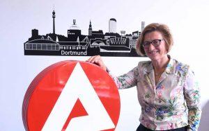 Heike Bettermann ist neue Chefin der Agentur für Arbeit in Dortmund. Foto: Alex Völkel