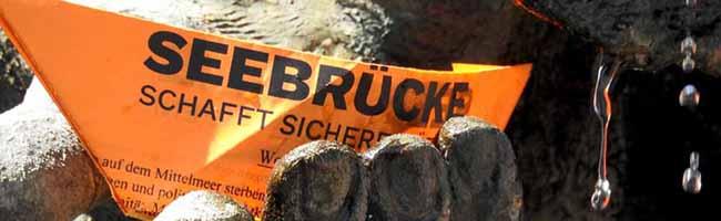 """700 Menschen bei der """"Seebrücke""""-Demo in Dortmund – Klare Botschaft: """"Seenotrettung ist kein Verbrechen!"""""""