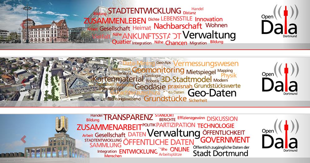 Die Stadt Dortmund hat ihr Open_Data-Portal gestartet. Fotos: Screenshot