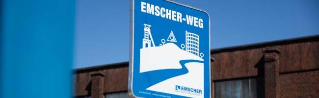 Milliardenprojekte an der Emscher im Fokus: Radtour der Grünen auf dem Emscherradweg zeigt wichtigste Stationen