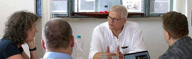 Zu Gast bei Nordstadtblogger: Regierungspräsident Hans-Josef Vogel diskutiert über Medienvielfalt und Lage in der Nordstadt