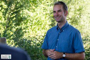 Erläuterte das Projekt für die grünen Ratsfraktion: Bernd Möhring, Betriebsmanager bei der Emschergenossenschaft.