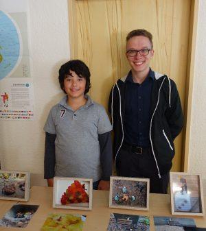 Nico und Leonel von Fotoprojekt der Sinnes-Safari
