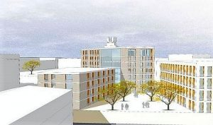 Ehemaliges Gelände Studieninstitut Ruhr, prominente Lage, viele Interessenten: Spar- und Bau (Quelle) erhält den Zuschlag
