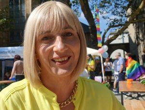 Trans CSD Organisatorin Natascha Zimmermann