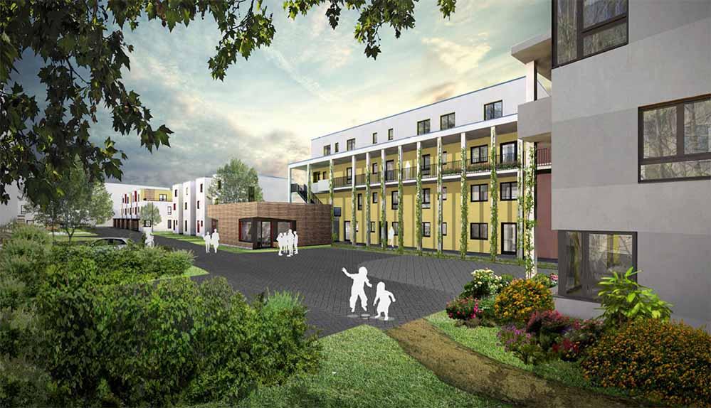 Die Pläne für das gemeinschaftliche Wohnprojekt sind fertig.