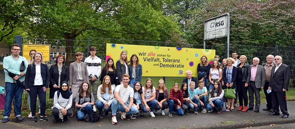 Die Schulen in Dorstfeld setzen Zeichen. Foto: Anja Kador/ Stadt Dortmund