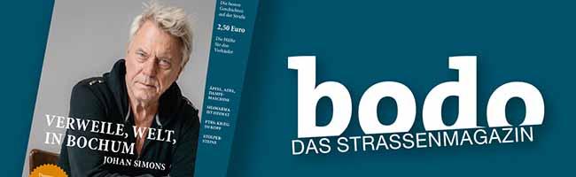 """bodo"" ‑ das Straßenmagazin im Oktober 2018"