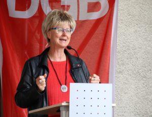 Jutta Reiter ist die heimische DGB-Vorsitzende