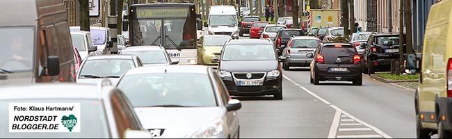 Luftverpestung und illegal fahrende Lkws: Brackeler Straße hat immer noch mit einigen Problemen zu kämpfen