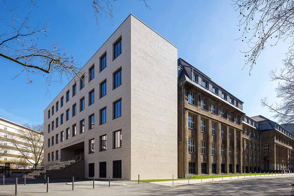 FHBK, Sanierung und Erweiterung durch SSP AG, Bochum. Foto: 2018 Jörg Hempel