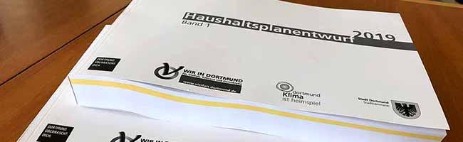 Haushalt der Stadt Dortmund sieht 2,57 Milliarden Euro an Ausgaben vor – trotz Defizits keine Steuererhöhungen geplant
