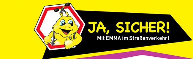 """""""Ja, sicher!"""" für mehr Verkehrssicherheit: Kampagne des Jugendamts startet mit EMMA und einer Fahrradrallye"""
