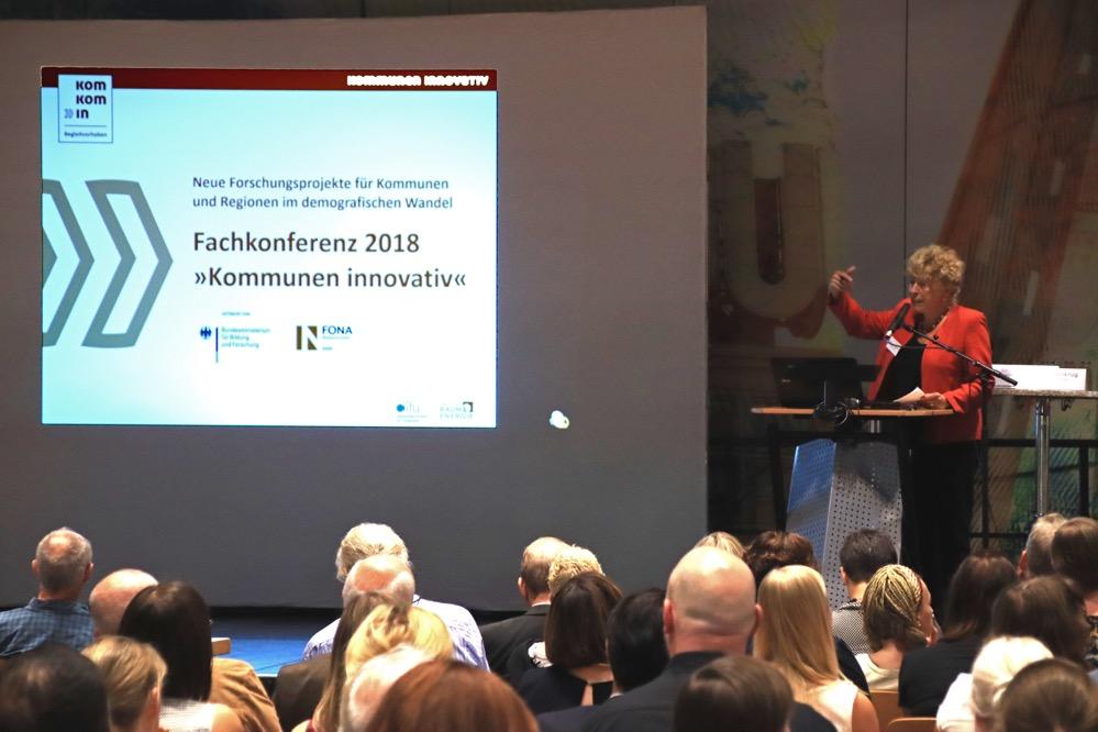 Prominenter Gast aus Berlin: Gesine Schwan spricht über neue Beteiligungsformen. Fotos: Karsten Wickern
