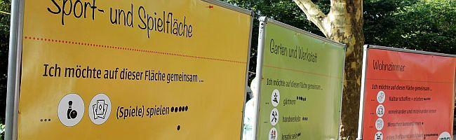 """Unter dem Motto """"Wir bauen ein Hochbeet!"""" können BewohnerInnen der Nordstadt den Blücherpark mitgestalten"""