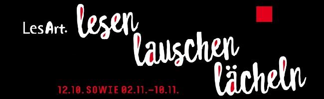 """""""lesen – lauschen – lächeln"""" – Das LesArt.Festival Dortmund steht mit interessanten Veranstaltungen in den Startlöchern"""