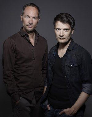 Maxim Leo und Jochen-Martin Gutsch Foto: PAULUS PONIZAK