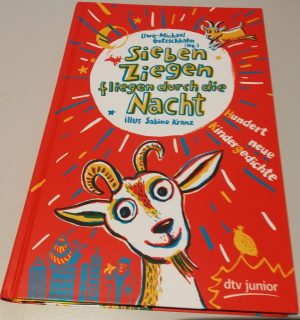 Sieben Ziegen fliegen durch die Nacht, Kinderbuch. Foto: Gerd Wüsthoff