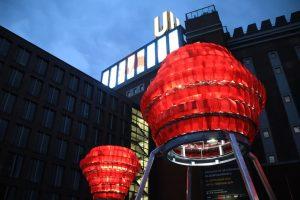 Auch das Dortmunder U war bei der DEW21-Museumsnacht mit dabei.