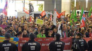 Der Protest am 27. September verlief lautstark und friedlich.