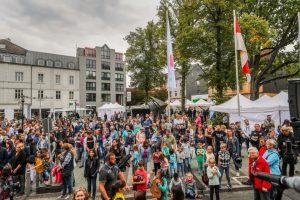 Insgesamt 500 Gäste kamen zu der Veranstaltung auf dem Wilhelmplatz.