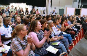 Gut besucht: der Fachtag am ersten Messetag. Foto: Westfalenhallen GmbH / Foto: Anja Cord