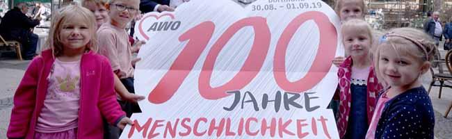 2019 sieht Dortmund Rot: Der AWO-Bundesverband feiert seinen 100. Geburtstag in der City – 50.000 Gäste erwartet