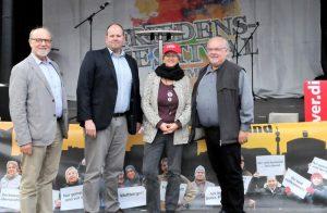 (v.l.) Hartmut Anders-Hoepgen, Bastian Prange, Jutta Reiter, Ralf Stoltze