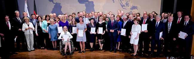 Ehrung durch die Außenminister: Deutsch-Russisches Forum zeichnet Partnerschaft von Dortmund und Rostow am Don aus