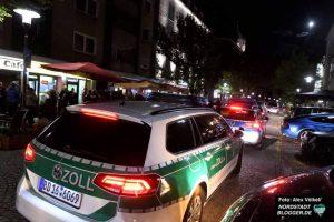 Rund 150 Einsatzkräfte verschiedener Behörden nahmen sich in der Nordstadt Bars und Betriebe vor.