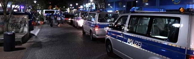 Größere Auseinandersetzung in der nördlichen Innenstadt – Polizei mit starken Kräften vor Ort – Ermittlungen dauern an