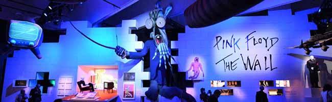 """Weniger Ausstellung: """"The Pink Floyd Exhibition: Their Mortal Remains"""" als multimediale Erlebnisfläche im Dortmunder U"""