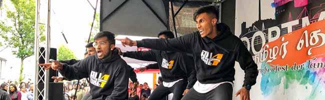 """Eine stille Gemeinschaft hat gefeiert: Beim ersten tamilischen Straßenfest zieht ein Hauch von """"Jaffna"""" durchs Unionviertel"""