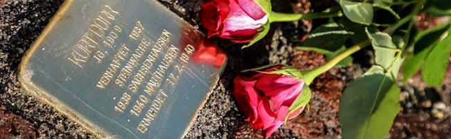 Zum Gedenken an drei homosexuelle Opfer: Stolpersteine in Dortmund erinnern an Verbrechen der Nazi-Gewaltherrschaft