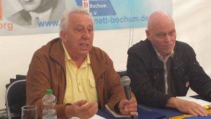 UZ-Pressefest Egon Krenz spricht über sein neues Buch