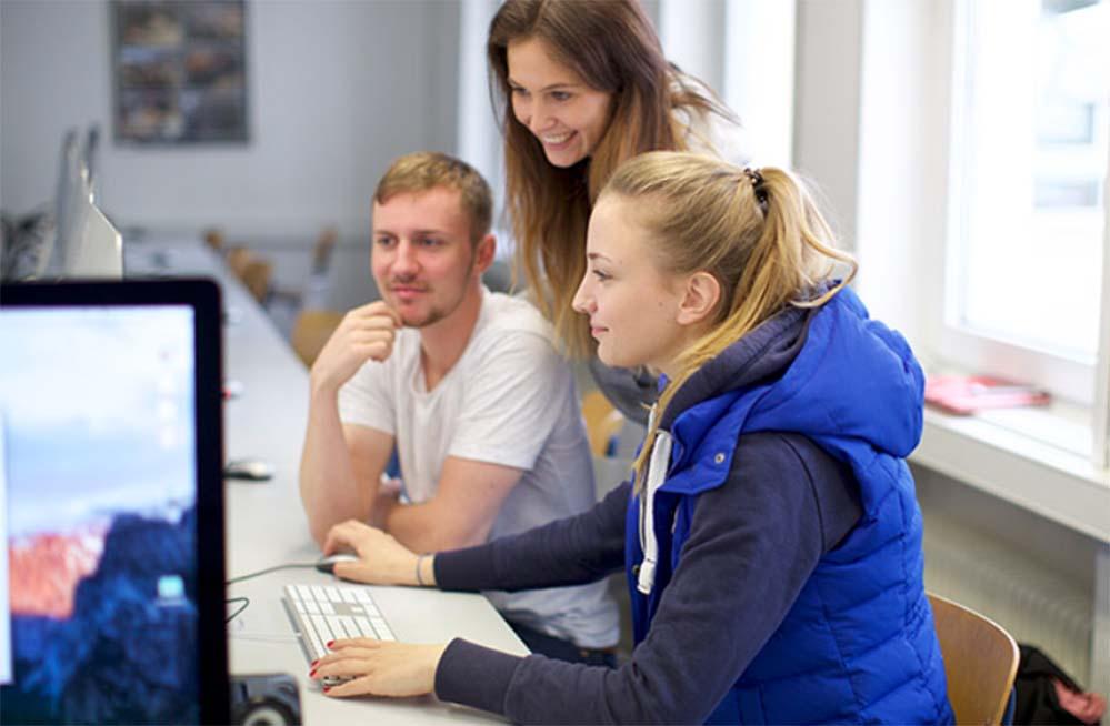 Das Besondere für die Studierenden am Praxisprojekt ist, dass sie ein Konzept entwerfen, das anschließend auch wirklich umgesetzt wird. Foto: WAM