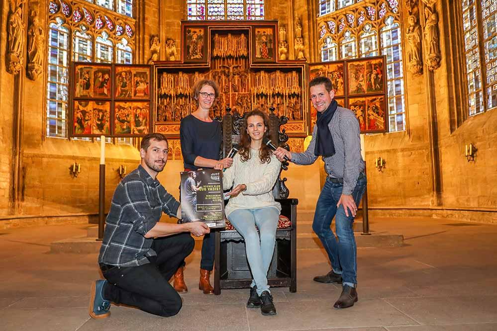 Der Science Slam in der Reinoldikirche geht am 29. Oktober in die nächste Runde. Foto: Stephan Schuetze