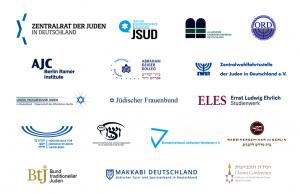 Diese Organisationen und Dachverbände jüdischen Lebens in Deutschland haben die Erhörung unterzeichnet.