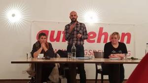 Lisa de Janet, Marco Bülow und Susi Neumann hatten zur Gründung eingeladen.
